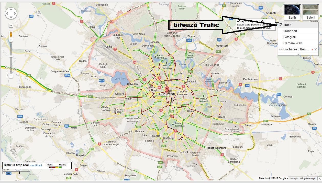 Live Cum Se Circulă Acum In București Google Trafic George