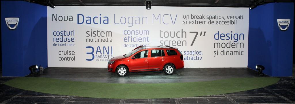 Lansare Noul Logan MCV