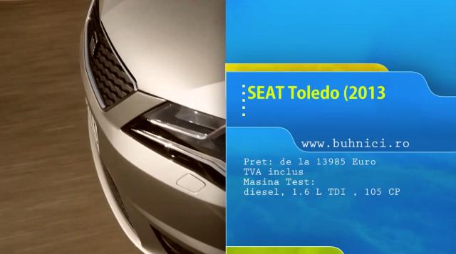 Seat Toledo 2013 - www.buhnici.ro