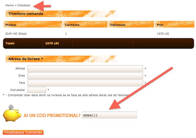 Cod reducere Drift HD Ghost - www.buhnici.ro