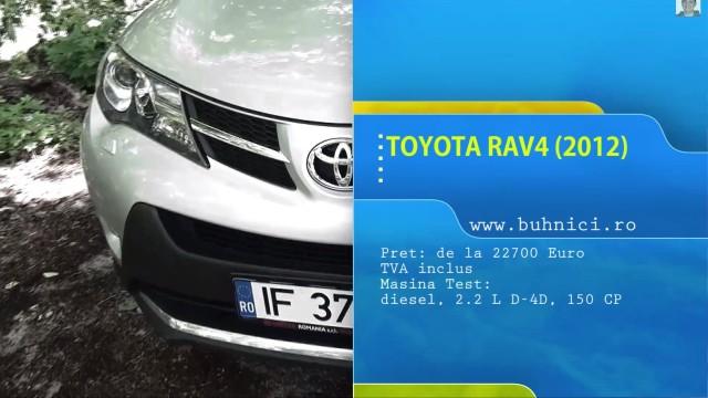Toyota RAV4 2013 www.buhnici.ro