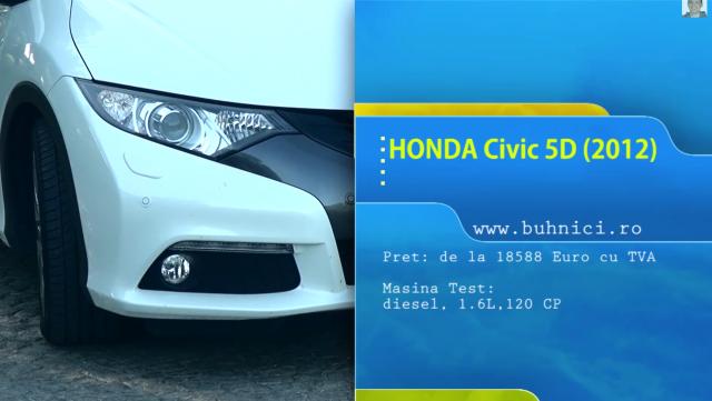Honda Civic 2012 - www.buhnici.ro