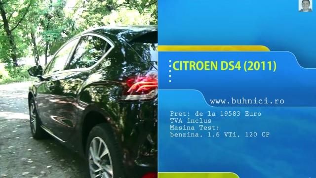 Citroen DS4 (www.buhnici.ro)