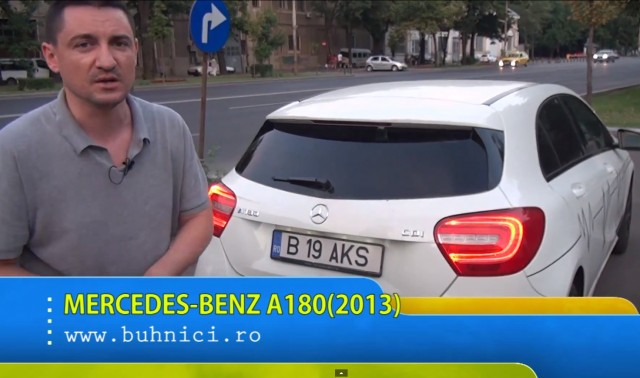 Mercedes A180cdi (www.buhnici.ro)