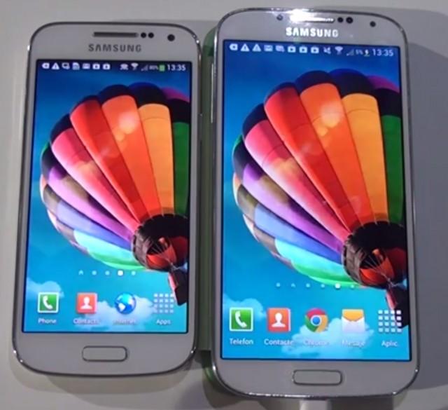 Samsung Galaxy S4 mini vs S4 www.buhnici.ro