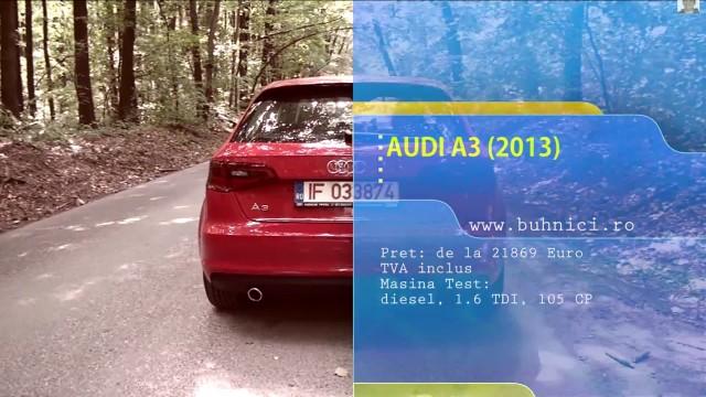 Audi A3 TDI (www.buhnici.ro)