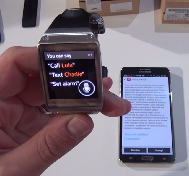 Samsung Galaxy Gear plus Note3 (www.buhnici.ro)
