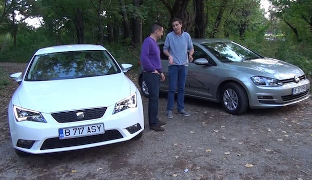 Seat Leon vs VW Golf 7
