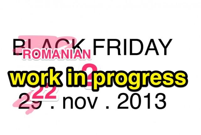 Black Friday romanesc