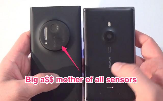 Nokia Lumia 1020 vs 925 (www.buhnici.ro)