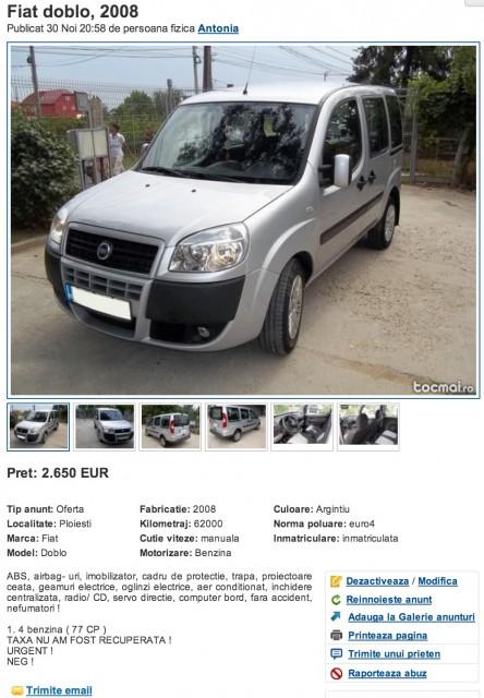 Teapa auto (www.buhnici.ro)