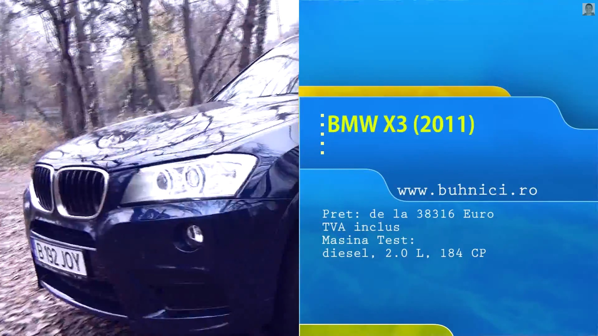 Video Bmw X3 2011 Mini Suv De 19 Tone George Buhnici