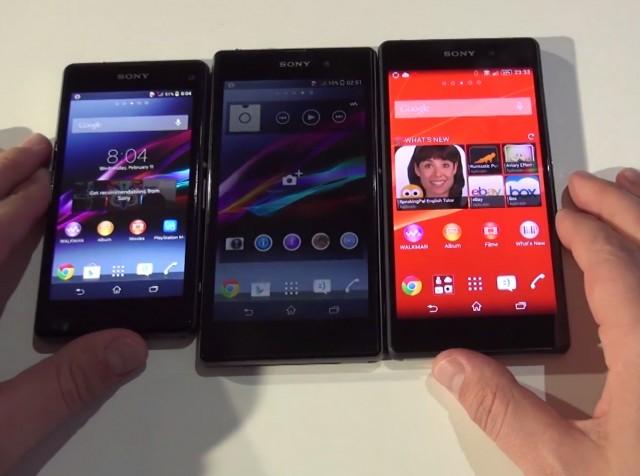 Sony Xperia Z2, Z1, Z1 compact (www.buhnici.ro)