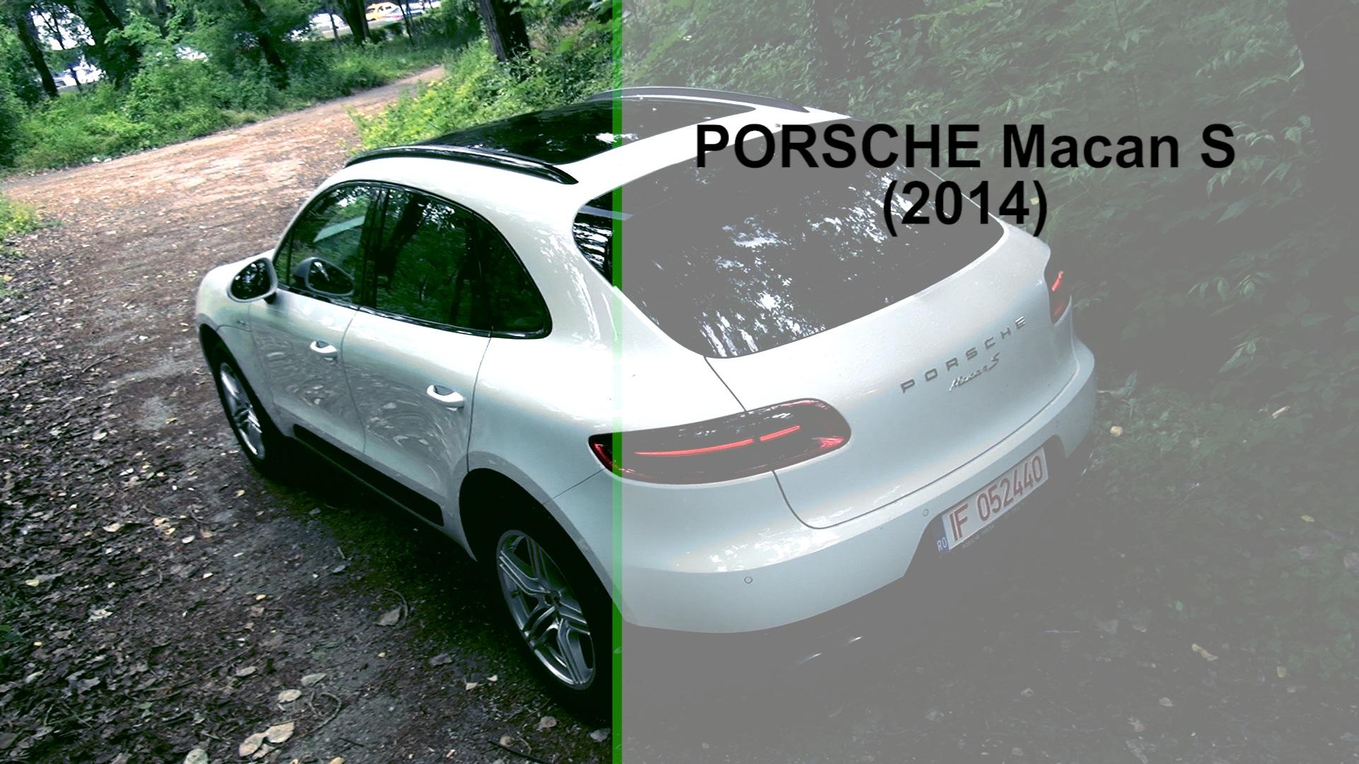 Porsche Macan S (2014)