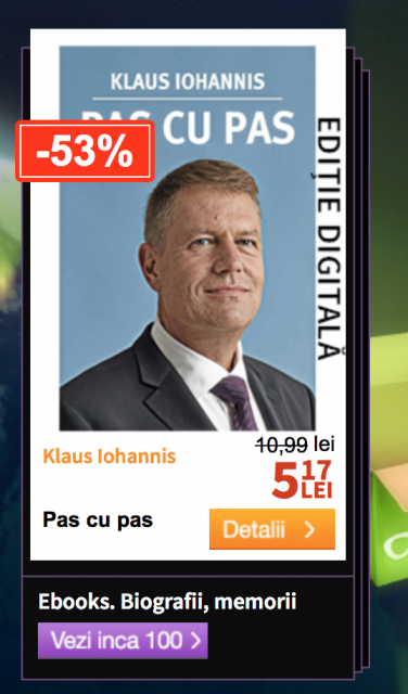 Klaus Iohannis BF 2014