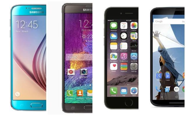 S6Note4iPhone6PlusNexus6