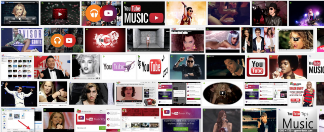 YouTube music (www.buhnici.ro)