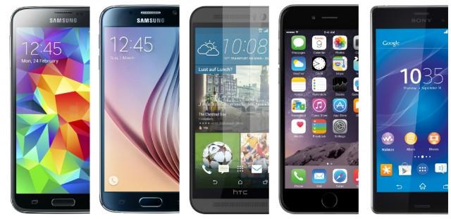 Comparativ camera foto Galaxy S5  Galaxy S6  HTC One M9  iPhone 6 Plus  Xperia Z3