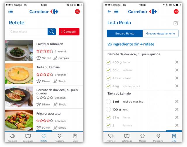 Aplicatia Carrefour
