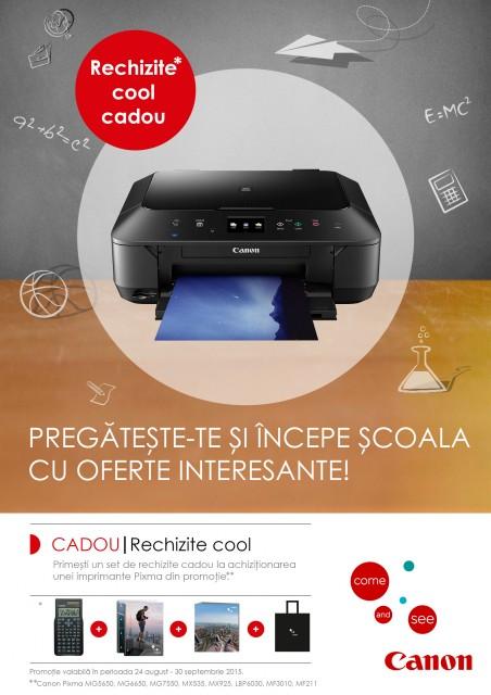 Canon Pixma promotie