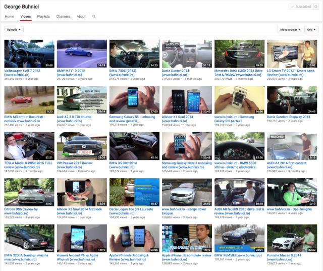 Buhnici Youtube